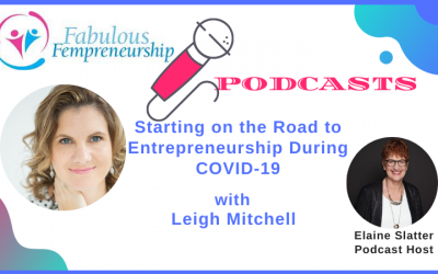 Starting on the Road to Entrepreneurship During COVID-19