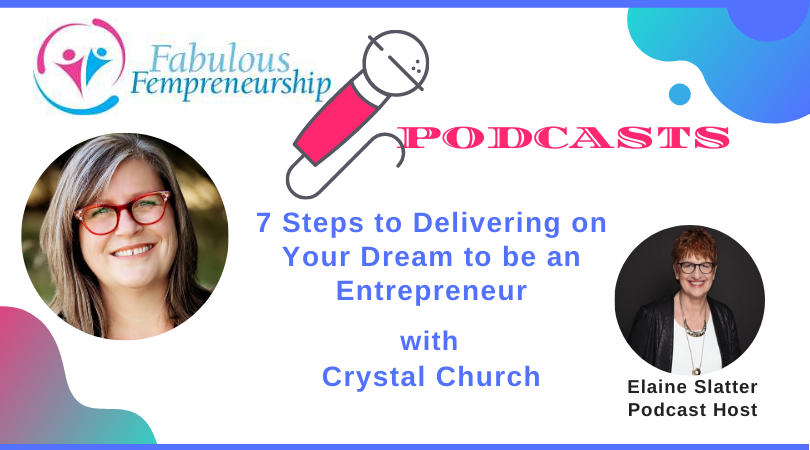 7 Steps to Delivering on Your Dream to be an Entrepreneur