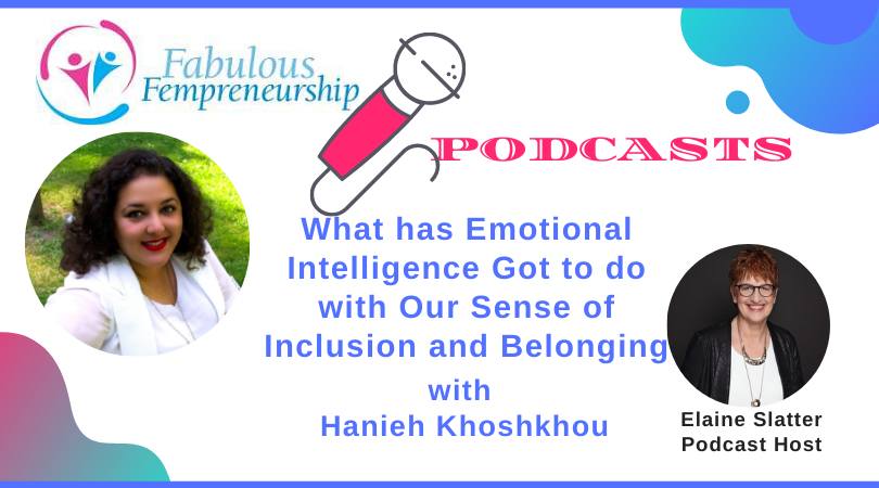 What has Emotional Intelligence Got to do with Our Sense of Inclusion and Belonging