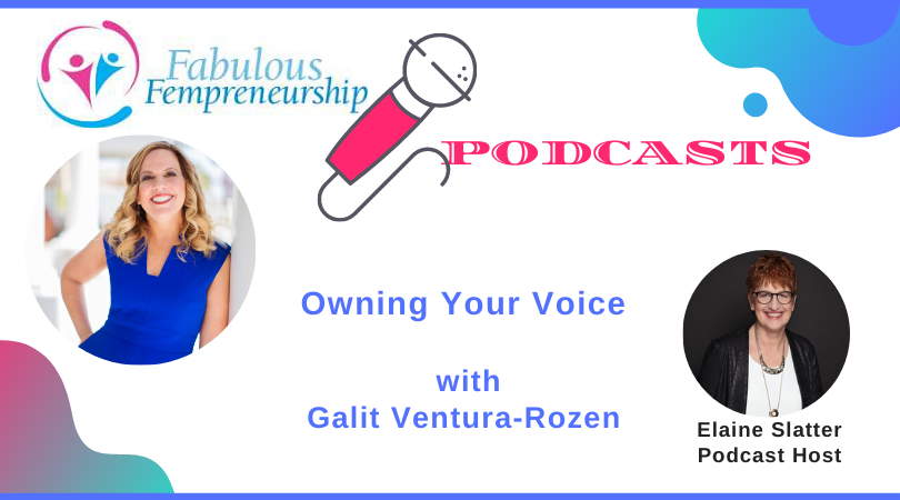 Owning Your Voice