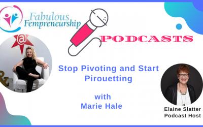 Stop Pivoting and Start Pirouetting